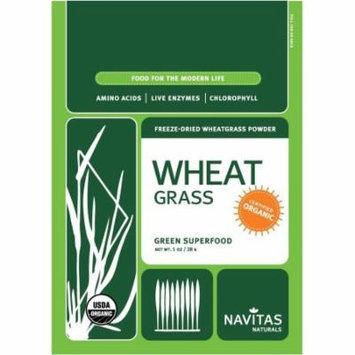 Navitas Naturals Organic Freeze-Dried Wheatgrass Powder, 1 oz