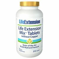Life Extension Mix Tablets without Copper Life Extension 315 Tabs