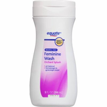 Equate Orchard Splash Sensitive Skin Feminine Wash, 9 fl oz