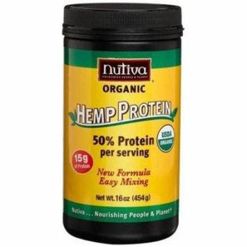 Nutiva Organic Hemp Protein Drink Mix, 16 oz