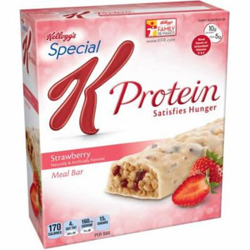 Kellogg's Special K Protein Strawberry Meal Bars, 1.59 oz, 6 count, (Pack of 6)
