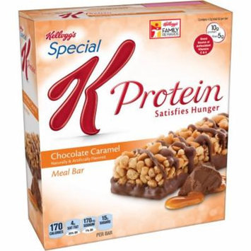 Kellogg's Special K Protein Chocolate Caramel Meal Bars, 1.59 oz, 6 count, (Pack of 6)