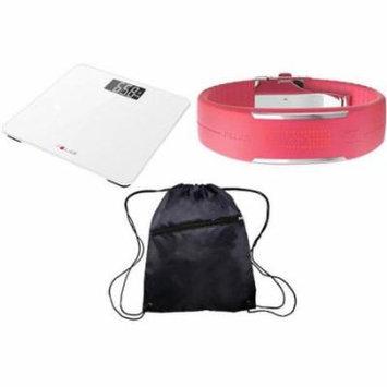 Polar Balance White and Loop 2 Pink Ultimate Health Kit