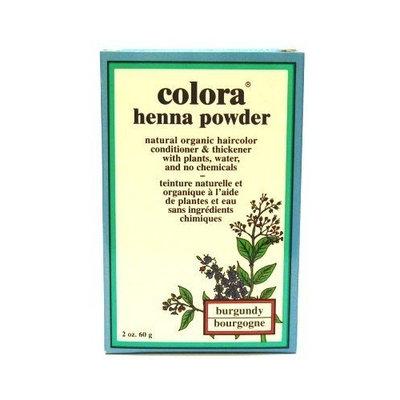 Colora Henna Veg-Hair Burgundy 2 oz. (Case of 6)