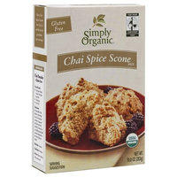 Simply Organic Chai Spice Scone Mix, 10-Ounce Boxes (Pack of 3)