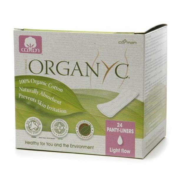 ORGANYC Organic Cotton Panty Liners