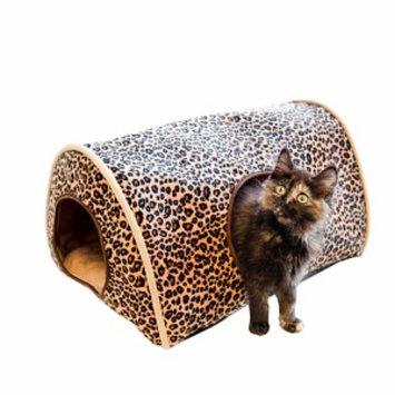 K & H Manufacturing Kitty Camper, Leopard, 1 ea