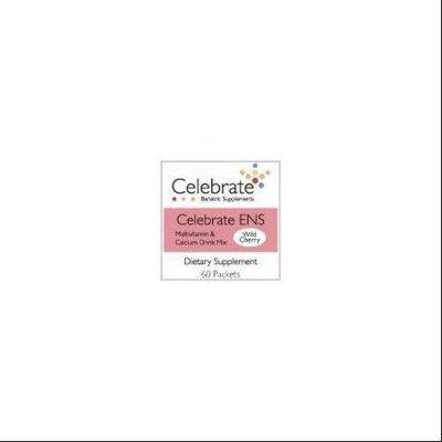 Celebrate ENS Multivitamin & Calcium Drink Mix Wild Cherry 60 packets