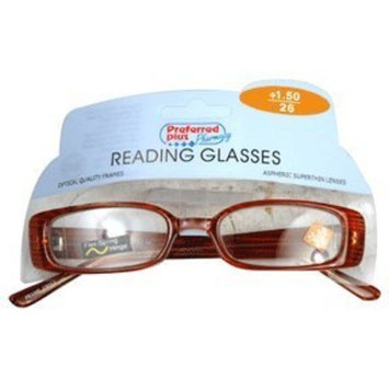 Preffered Plus Glasses-reading 1.50 Power Kpp, Size: Rr909