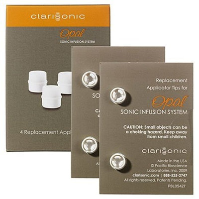 Clarisonic Opal Sonic Infusion System 4 Replacement Applicator Tips