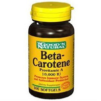 Good 'N Natural - Beta-Carotene Provitamin A 10000 IU - 100 Softgels