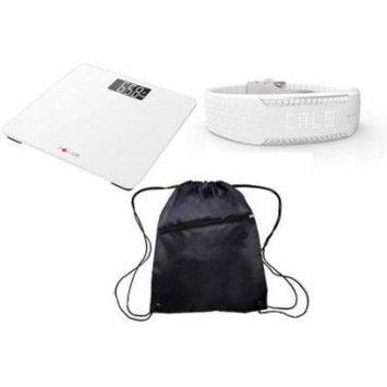 Polar Balance White and Loop 2 Swarovski Crystal Elegant Health Kit