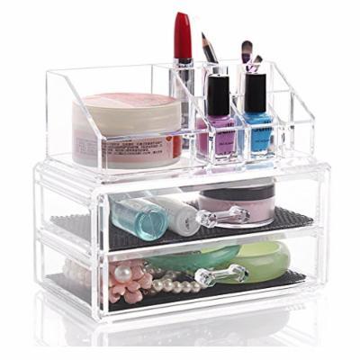UZO1TM Acrylic Makeup / Cosmetic & Jewelry Organizer