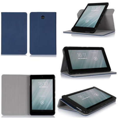 GearIt Dell Venue 8 (Android) Case - 360 SPINNER Folio Rotating Smart Cover 8.0