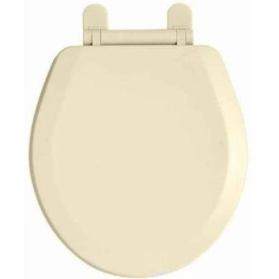 American Standard 5321.110.020 Everclean Elongated Front Plastic Slow Close Toilet Seat and Cover with Snap-Off Hinges, Available in Various Colors