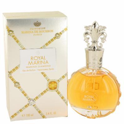 Royal Marina Diamond for Women by Marina De Bourbon Eau De Parfum Spray 3.4 oz