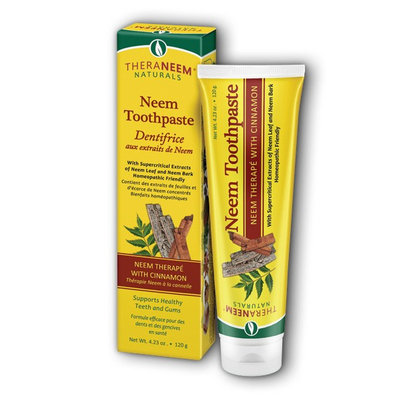Organix South TheraNeem Cinnamon Toothpaste