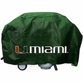 Miami Hurricanes Grill Cover Economy