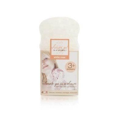 Spongeables Shower Gel in a Sponge (White Rose) 3+ Uses 1.2 oz