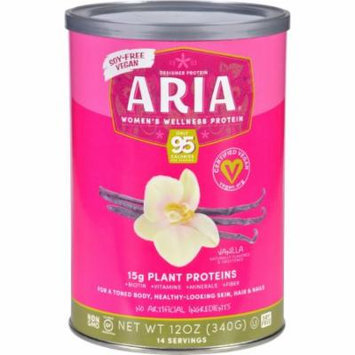 Designer Whey Aria Womens Wellness Protein Powder - Vanilla - 12 oz