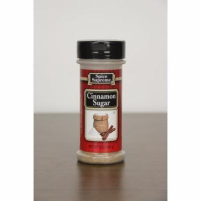 Pack of 12 Spice Supreme Cinnamon and Sugar Seasoning 5 oz. #30730