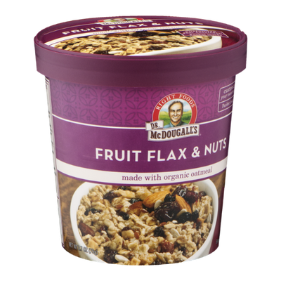 Dr. McDougall's Organic Oatmeal Fruit Flax & Nuts