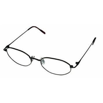 Bob Mackie Uni Sex Black Tortoise Metal Hex Eyewear Frame BM 780