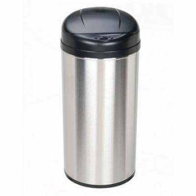 Nine Stars 13-Gal Stainless Steel Motion Sensor Trash Can