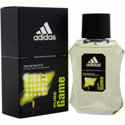 Adidas Pure Game for Men Eau de Toilette Spray, 1.7 oz
