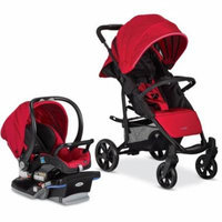 Combi Shuttle Travel System Red Chili