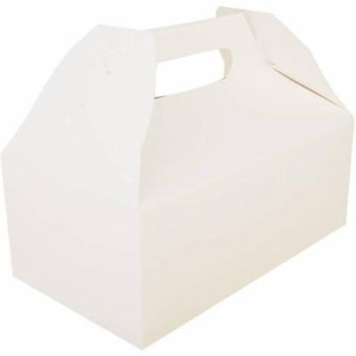 SCT White Carryout Barn Boxes, 250 count