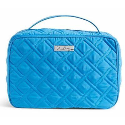 Gorgeous Vera Bradley Large Blush and Brush Makeup Case in Coastal Blue
