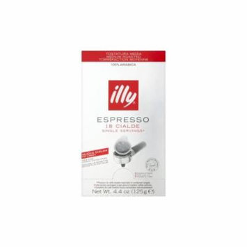 Illy Single Serving 18 Pods Medium Roasted 100% Arabica