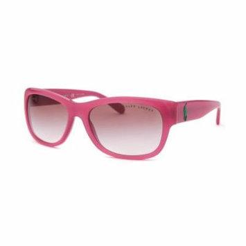 Ralph Lauren Rl8106-5411-8D Women's Rectangle Pink Sunglasses