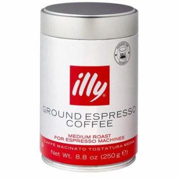 Illy Caffe Illy 8.8 Oz Ground Espresso Medium Roast(489)