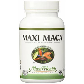 Maxi Health Maca - Concentrated Maca Root Extract - Reproductive Support - 90 Capsules - Kosher