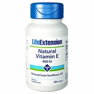 Vitamin E 400IU Life Extension 100 Softgel