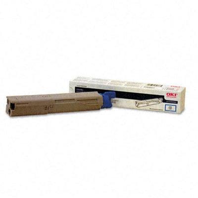 Okidata Corporation 3400/3600 High-Yield Toner Cartridge, Cyan