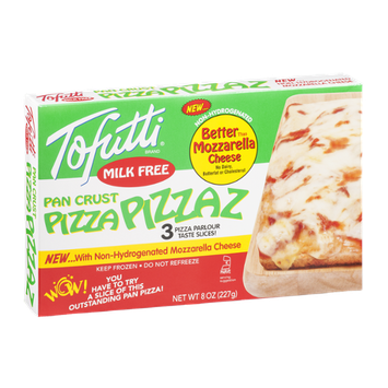 Tofutti Pizza Pizzaz Milk Free Pan Crust Pizza