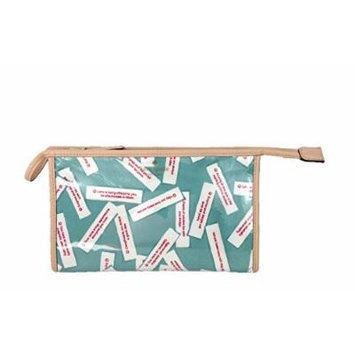 Kate Spade 'Fortunes' Season Street Medium Heddy Travel Cosmetic Case, Dusty Jade