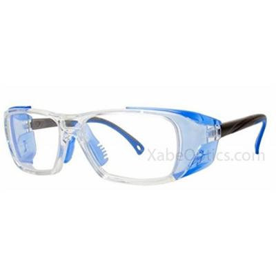3M ZT300 Prescription Ready Safety Glasses, Clear/Blue