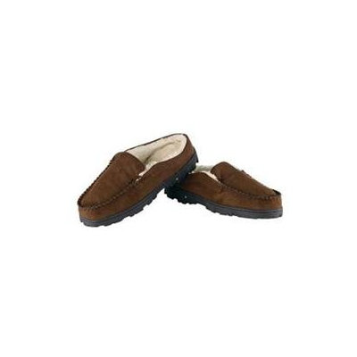 Conair Men's Massaging Slippers Rubber Soled VSM32