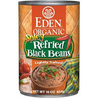 Eden Organic Refried Spicy Black Beans, 16-Ounce Cans (Pack of 12)