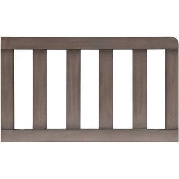 Delta Children Toddler Guardrail, Stained Grey