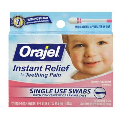 Baby Orajel Teething Swabs