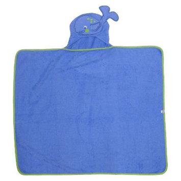 Neat Solutions Whale Applique Bath Wrap