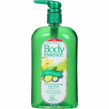 Body Essence Cucumber Breeze Ultra-Moisturizing Body Wash, 28 fl oz