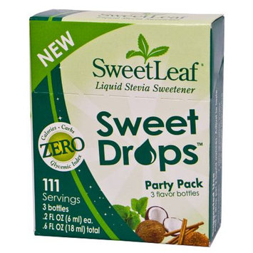 SweetLeaf Liquid Stevia Sweet Drops Party