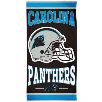 Wincraft Inc NFL Carolina Panthers Bath or Beach Towel - 100% Cotton Cheer On Your Team