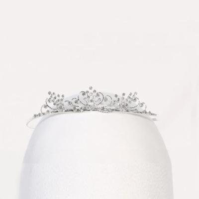 Angels Garment Girls Silver Rhinestone Sparkle Special Occasion Tiara